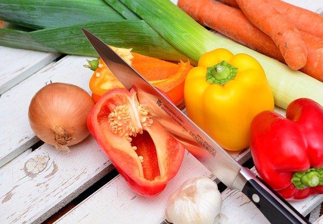 Pimientos vitamina C piel atópica